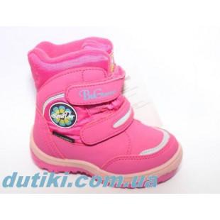 Зимние термо ботинки для девочек мембрана+ штом Арт:R171-6023