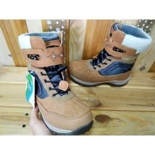 Зимние термо ботинки для девочек мембрана+ термо стелька Арт: R181-612