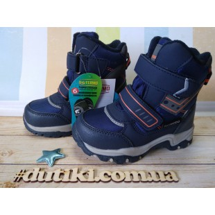 Зимние термо ботинки для мальчиков мембрана+ термо стелька Арт: R20-201