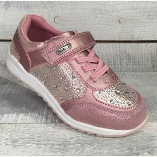 Кроссовки для девочек Арт: R57082 pink