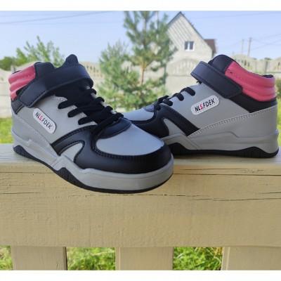 Хайтопи, високі кросівки для дівчаток, 5-0925R