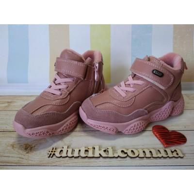 Ботинки, высокие кроссовки для девочек Сказка R5299 P
