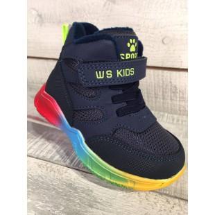 Яркие ботинки для мальчиков  Арт: 59655R
