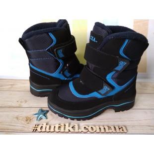 Зимние термо ботинки для мальчиков Арт: R9181 DB