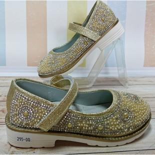 Нарядные туфли для девочек Арт: 02-501AS