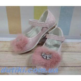 Нежные туфельки для девочек Арт:SB95-2P