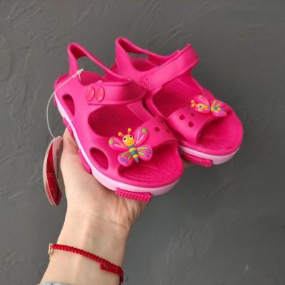 Пляжні босоніжки для дівчаток, Flamingo, HS-0960