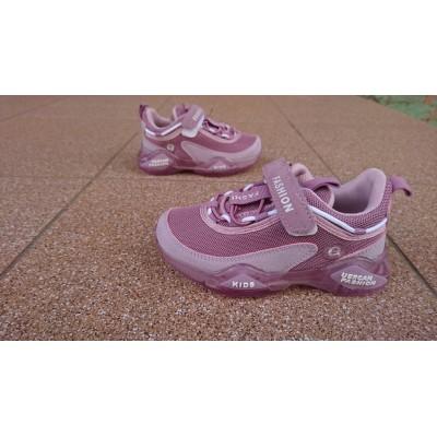 Кроссовки для девочек на силиконовой подошве, JX751-2