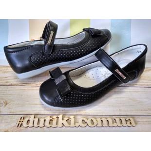 Школьные туфли для девочек Арт: XY-0292 - последняя пара!