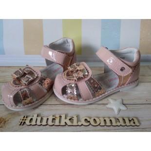 Красивые сандалии для девочек Арт: XY-0775 - последняя пара !