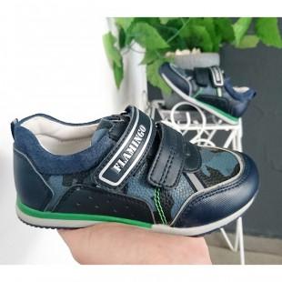 Кросівки для хлопчиків з натуральної шкіри Арт: 9611-YX - последняя пара 28 рр!