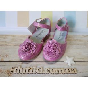 Нарядные туфли для девочек YL 329А - последняя пара!