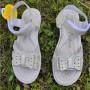 Босоніжки для дівчаток з натуральної шкіри Clibee, 112Z beige