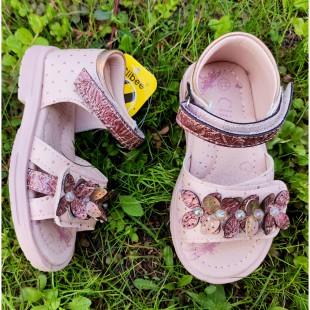 Босоножки для девочек с каблуком Томаса Арт: Z527