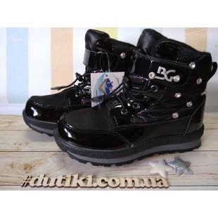 Зимние термо ботинки для девочек-школьниц мембрана+ штом+термо стелька Арт: ZTE18-32