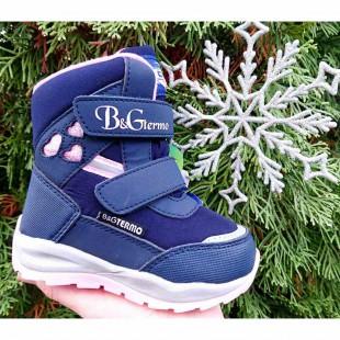 Зимние термо ботинки для девочек мембрана+ термо стелька Арт: ZTE21-0120