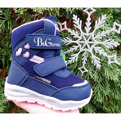 Зимние термо ботинки с мембраной B&G, ZTE21-0120