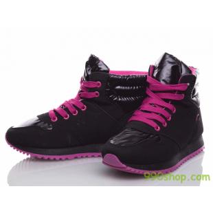 Демисезонные высокие кроссовки женские/подростковые 211-031