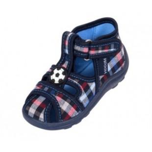 Текстильные сандалии-тапочки для мальчиков Kubus kratka